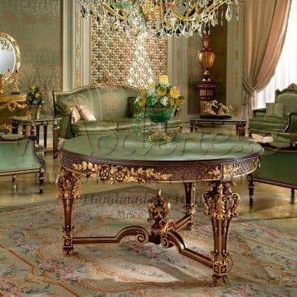 Роскошный венецианский столик вырезанный в ручную итальянскими мастерами топ из зеленого оникса драгоценные камни мебель для вип клиентов роскошные итальянские столики на заказ из массива дерева классика барокко премиум класс