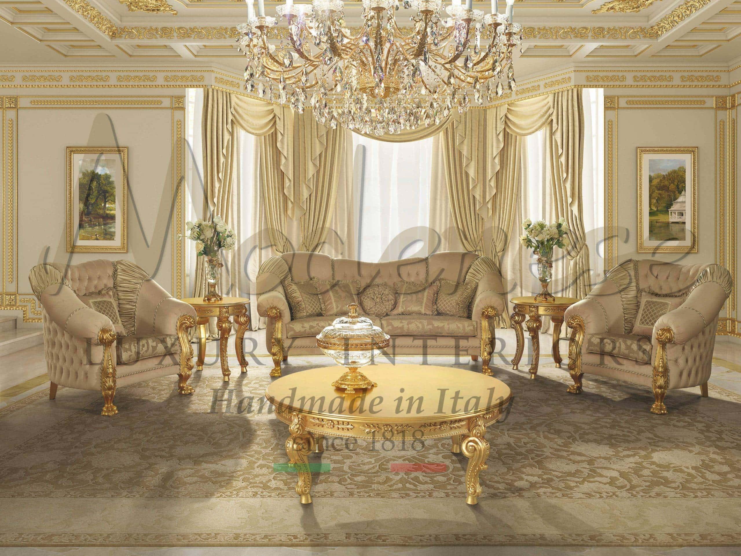 55 Tremendous Italian Style Living Room Furniture