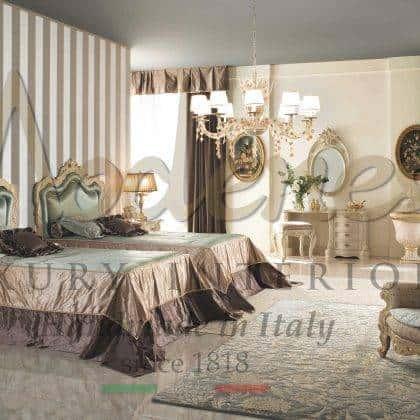 Элитная мебель для спальни на заказ из массива дерева королевский классический стиль итальянское высокое качество уникальный дизайн премиальное качество