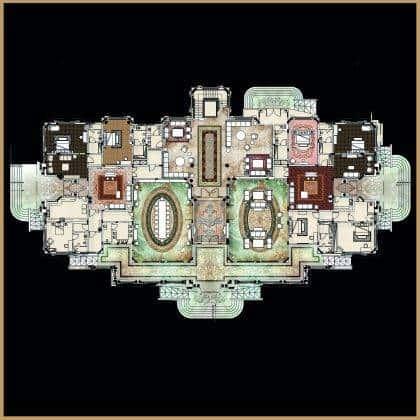 design d'intérieur résidentiel aménagement classique de luxe