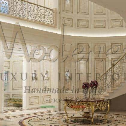 Стеновые панели буазери в классическом стиле деревянные элитные стены роскошная резьба ручной работы мебель в классическом стиле уникальные интерьеры в стиле барокко королевские интерьеры эксклюзивный дизайн итальянское высокое качество стеновые панели в стиле классика роскошный интерьер виллы