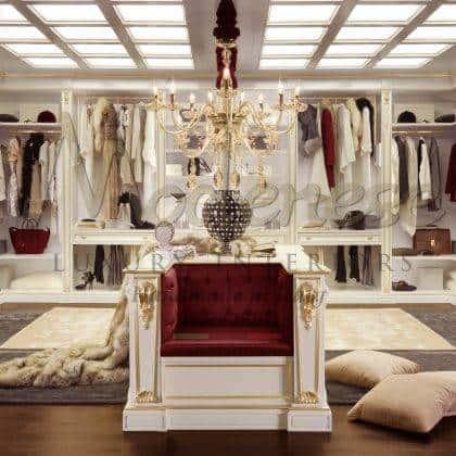 Роскошные элитные гардеробные комнаты дворцовые интерьеры высокое качество мебели сделано в италии система хранения на заказ из италии эксклюзивный дизайн гардеробной комнаты