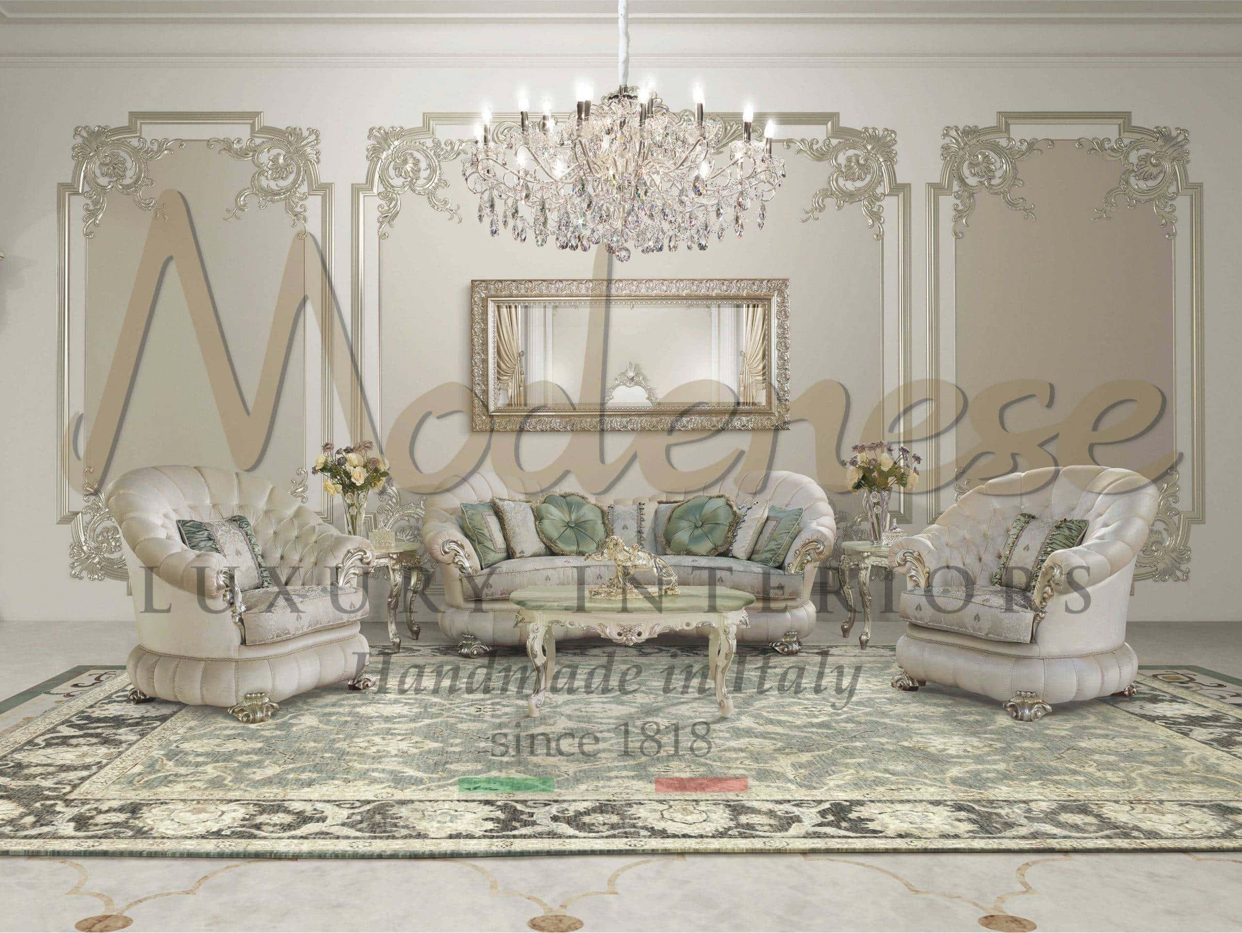 Picture of: Classic Luxury Living Room Furniture Italian Artisanal Handmade Furniture High End Italian Home Decor Furnishing Modenese