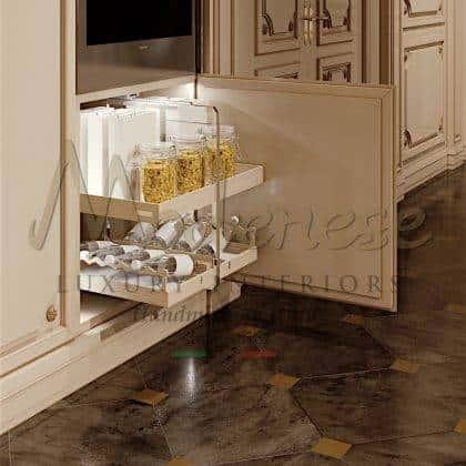 Роскошная классическая кухня из массива дерева на заказ резьба по дереву в ручную дизайнерская разработка полностью индивидуальное производство итальянское премиальное качество