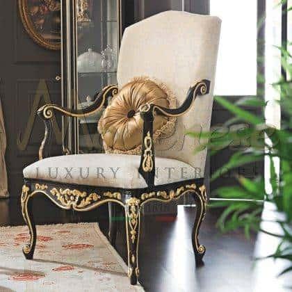 qualité haut de gamme fabriqués à la main style classique meilleurs fauteuils de design italien sophistiqués intérieurs artisanaux fabrication de qualité haut de gamme made in Italy sélection de tissus meubles fabriqués à la main salon idées de fauteuils raffinés intemporels fauteuils baroques victoriens rococo fabriqués en Italie matériaux de qualité supérieure intérieurs en bois massif meubles décoratifs exclusifs pour décorations majestueuses de palais royaux et de villas