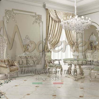 Королевская мягкая мебель в классическом стиле для роскошных элитных домов интерьер классической виллы диваны на заказ от производителя итальянской мебели премиального класса