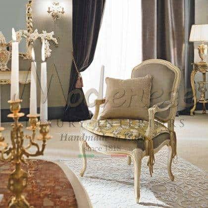 made in Italy fauteuil de luxe rococo victorien fait à la main élégant fauteuils classiques ornementaux faits à la main avec feuille d'or détails raffinés meubles exclusifs style baroque vénitien haut de gamme production d'intérieurs artisanaux de qualité supérieure fauteuils majestueux pour palais royaux décorations pour la maison villas sur mesure décor bois massif sur mesure meubles italiens exclusifs fabrication