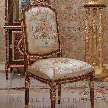 Бессмертная классика роскошный дизайн стулья и кресла на заказ в классическом стиле от производителя итальянской мебели премиального класса