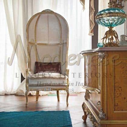 idées de trône sophistiquées uniques style classique élégant fabriqué en Italie artisanat de meubles en bois massif meilleurs fauteuils italiens pour la décoration de la maison élégante projets d'ameublement idées de fauteuils et de trônes raffinés faits à la main de qualité supérieure meubles exclusifs de style vénitien baroque haut de gamme production d'intérieurs artisanaux de qualité supérieure en bois massif de qualité supérieure intérieurs fabriqués en Italie tissus sélectionnés précieux et élégants