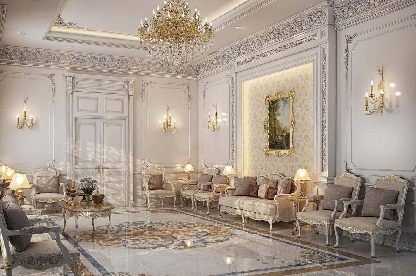 проект роскошного элитного освещения итальянская классика хрустальные люстры элегантный классический стиль люстры на заказ виллы пентхауса апартаменты