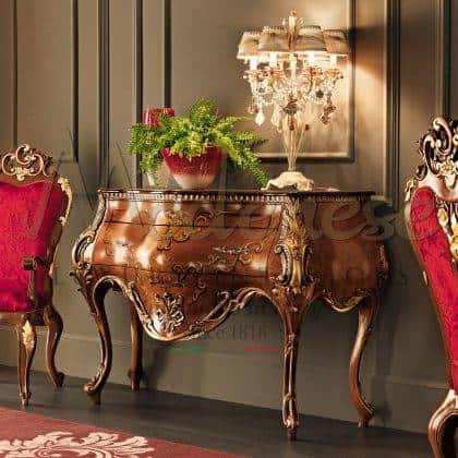 style de vie de luxe armoire élégante exclusive finitions en bois massif sur mesure haut de gamme de luxe traditionnel fabriqué en Italie meubles de style classique haut de gamme meubles de classe faits à la main haut de gamme avec des détails raffinés en bois massif