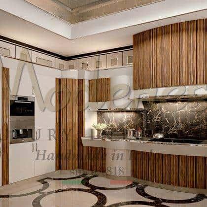 Палисандровое дерево в стильной дизайнерской кухне Арроганс эксклюзивная коллекция из роскошного дерева палисандр лаковое покрытие свальные детали уникальная кухня высокого качества из массива дерева от итальянского производителя мебели премиального качества