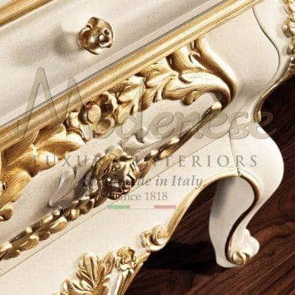 Роскошная итальянская мебель из настоящего дерева производство на заказ ручной работы декор интерьера в стиле барокко элегантная классика в современных интерьерах высокое итальянское качество комоды и тумбы для телевизора в роскошном итальянском стиле