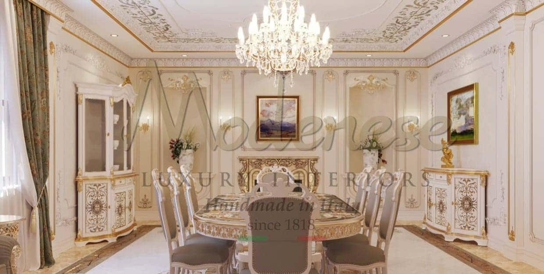 Премиальное качество, роскошные итальянские материалы и отделки, традиционное итальянское производство мебели ручной работы высокого качества и роскошного эксклюзивного дизайна. Проектировка дизайна интерьеров от Modenese Luxury Interiors.