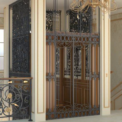 Ascenseurs de luxe de haute qualité pour des projets incroyable, société de design d'intérieur de premier plan, conception de cabines d'ascenseurs sophistiquées, design d'intérieur de première qualité, conception étonnante pour des villas de luxe.