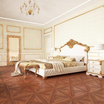 Meubles de chambre à coucher raffinés et élégants fabriqués en Italie pour un projet de luxe. Meilleure entreprise de design d'intérieur. Meilleure production de meubles faits à la main.