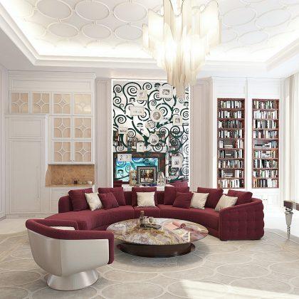 Qualité haut de gamme, fabriqué en Italie, normes de qualité haut de gamme. Projet de design d'intérieur sur mesure et production artisanale de meubles. Meilleure entreprise de design d'intérieur aux Émirats arabes unis.