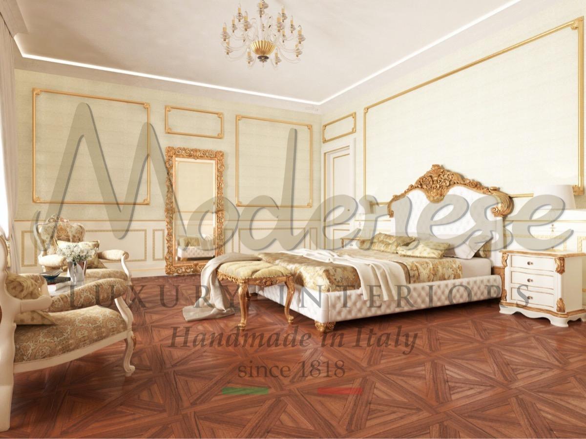 Роскошная классическая вилла, королевский дизайн и традиционная неподвластная времени мебель сделанная на заказ. Итальянское мастерство, интерьеры высочайшего качества. Лучший дизайн интерьера. Королевская спальня в светлых тонах