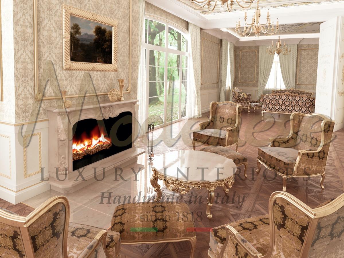 Элитные интерьерыб роскошная мебель с Италии. Традиционная мебель ручной работы и лучшие проекты классического дизайна интерьера. Классическая итальянская гостиная комната