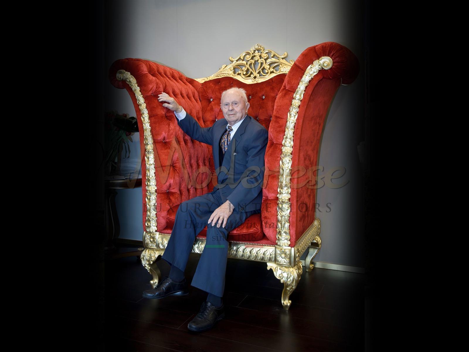 роскошь итальянские интерьеры классическое барокко ампир рококо стиль сделано в Италии производство производство завод история наследие семейные традиции самолет трон