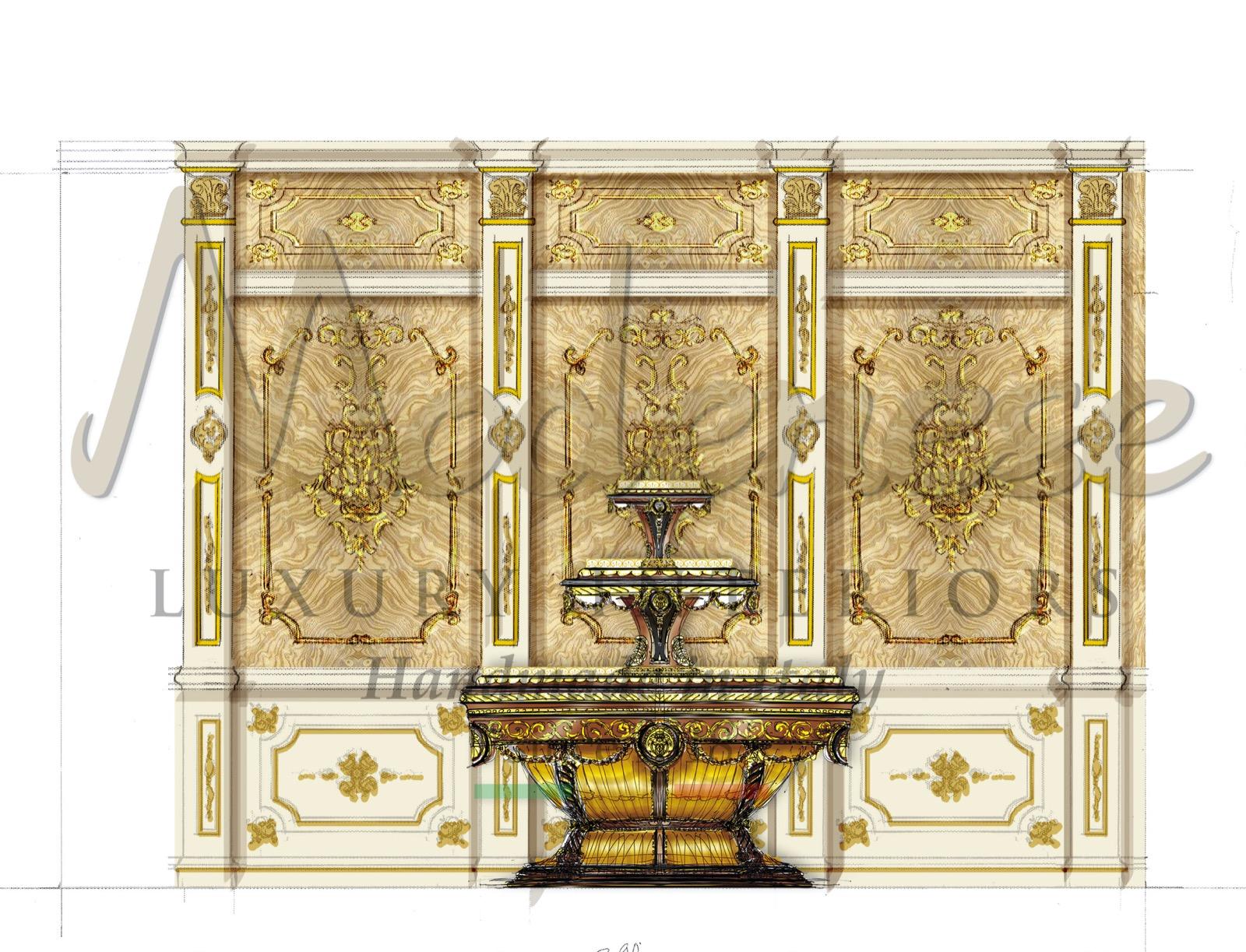 residential palace villa luxury classic furniture interior design studio consultancy bespoke interiors handmade in Italy premium best quality solutions