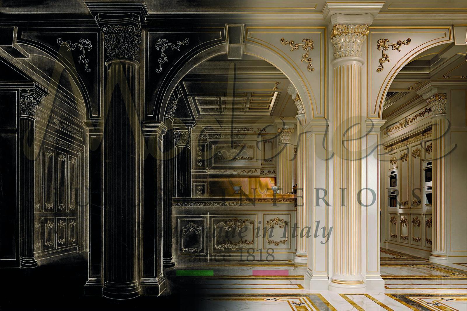 на заказ индивидуальная роскошная итальянская мебель ручной работы производство по специальному запросу вилла королевская империя проекты дизайнеры архитекторы премиум решения дом мечты