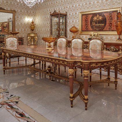 выставка мебели неделя дизайна 2019 Италия Милан Salone del Mobile 2020 роскошная королевская коллекция роскошная итальянская мебель ручной работы ремесленники классические золотые детали в французском стиле
