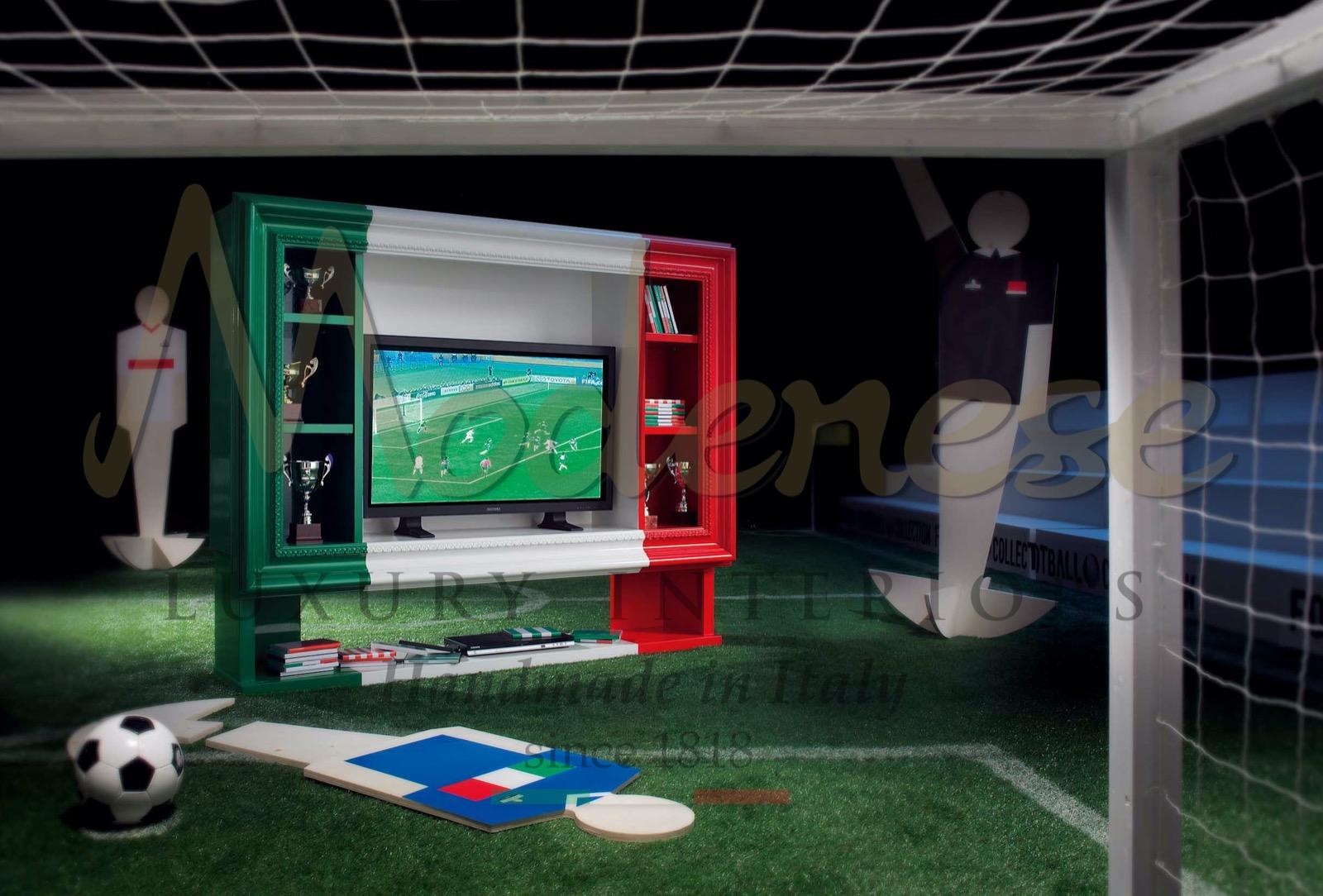 entertainment living room football FIFA world cup luxury furniture handmade production