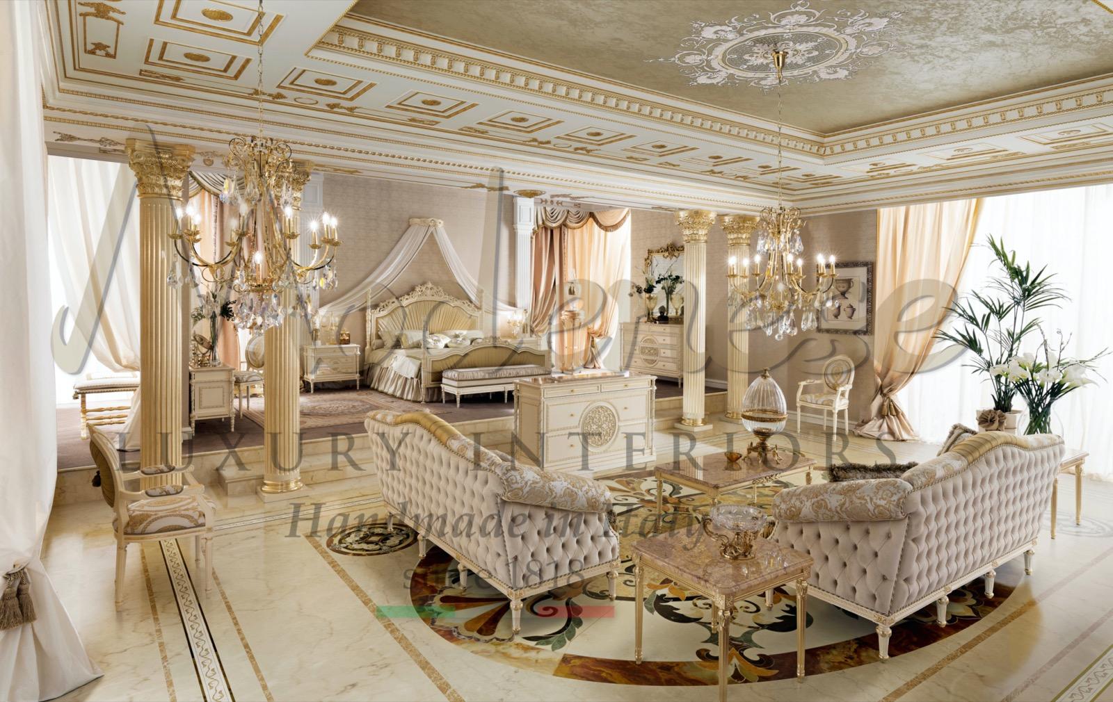 всемирно роскошные интерьеры выставочный зал мебель ручной работы в Италии Дубай ОАЭ королевская классическая вилла в императорском стиле
