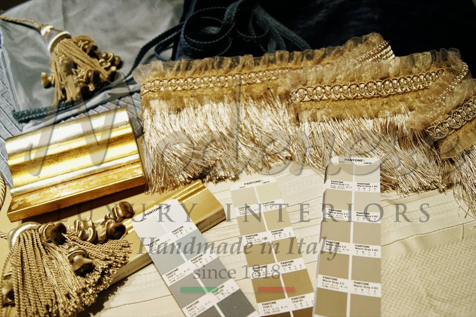 premium materials fabrics solid wood gold details ornamental solution interior design best ideas decorations luxury home unique elegant project classical furniture